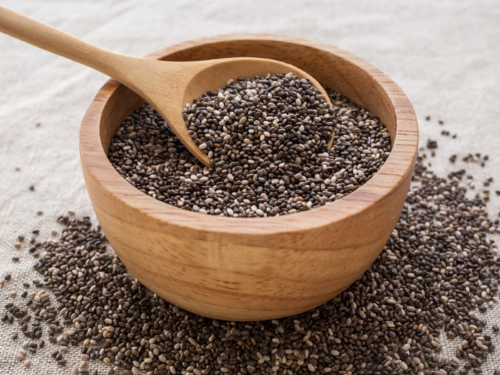 Benefit and harm to man from chia seeds