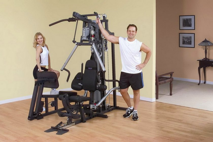 Home exercise machines for working out the maximum number of muscles