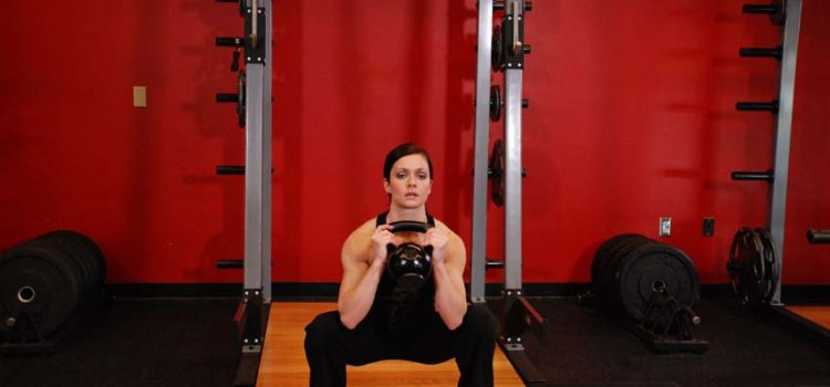 How to properly perform a goblet exercise squats