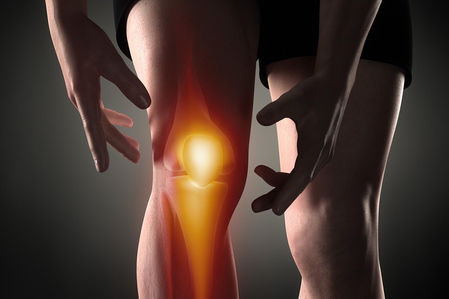 How to treat knee joint disease