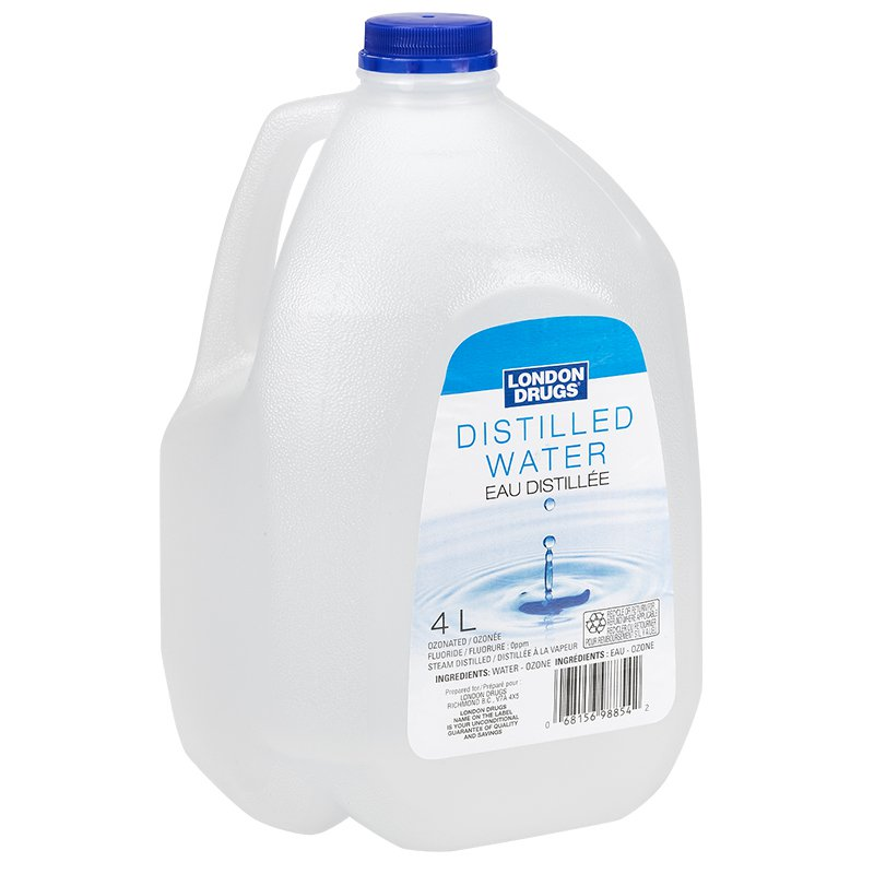 Is it possible to drink distilled water and is it useful
