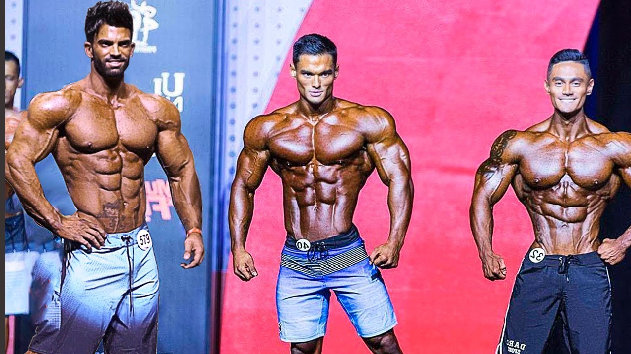 Men's Physique the program of trainings