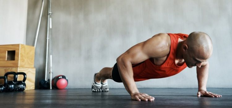 The effective program of trainings on push-ups in house conditions