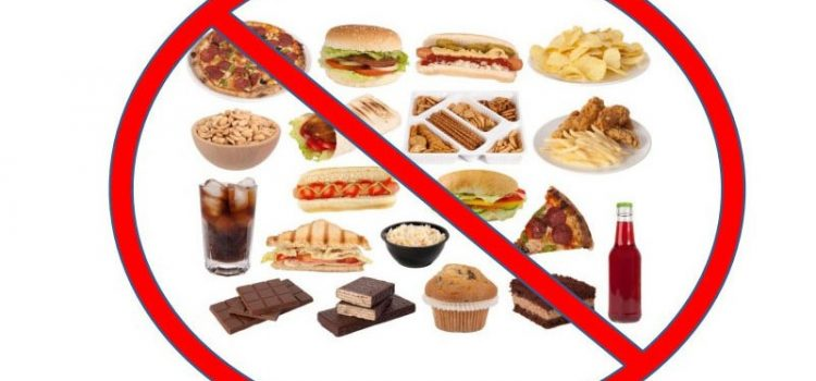 What foods can not be eaten while losing weight