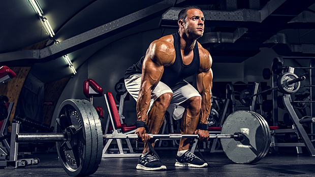 What muscles work with deadlift