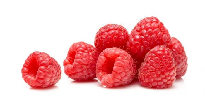 What vitamins contain in raspberries