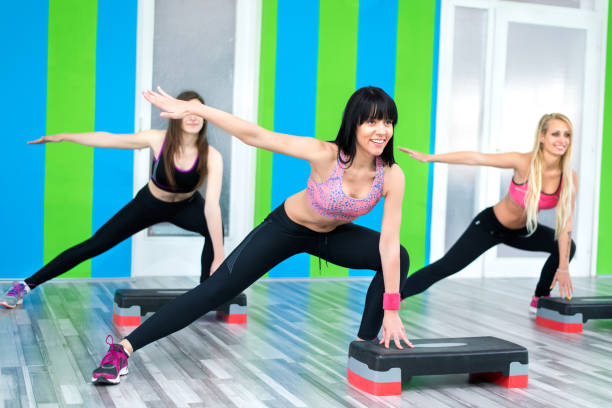 what is step aerobics exercise